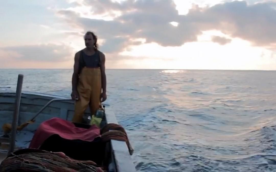 La pesca alla sciabica su Capo Mele