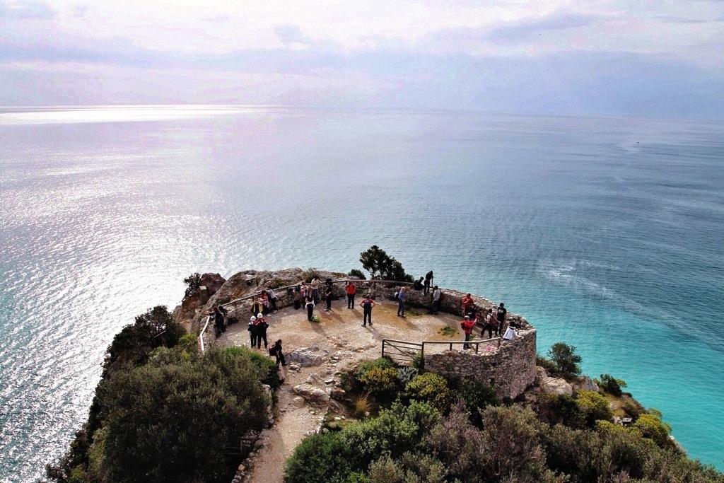 punta Crena in Liguria