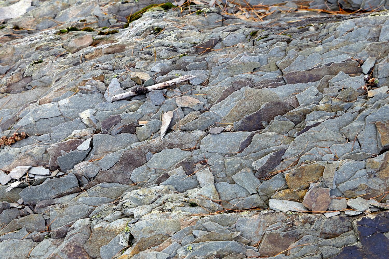 argilla affiorante nelle Alpi Liguri