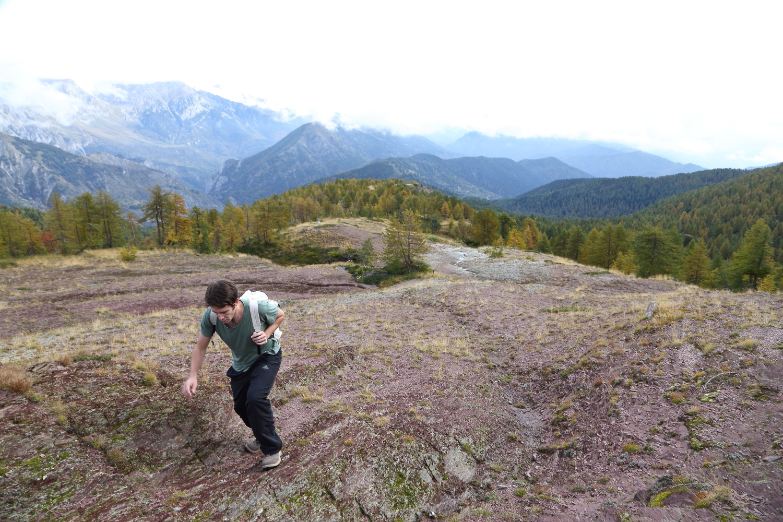 argille affioranti a Cima Missun