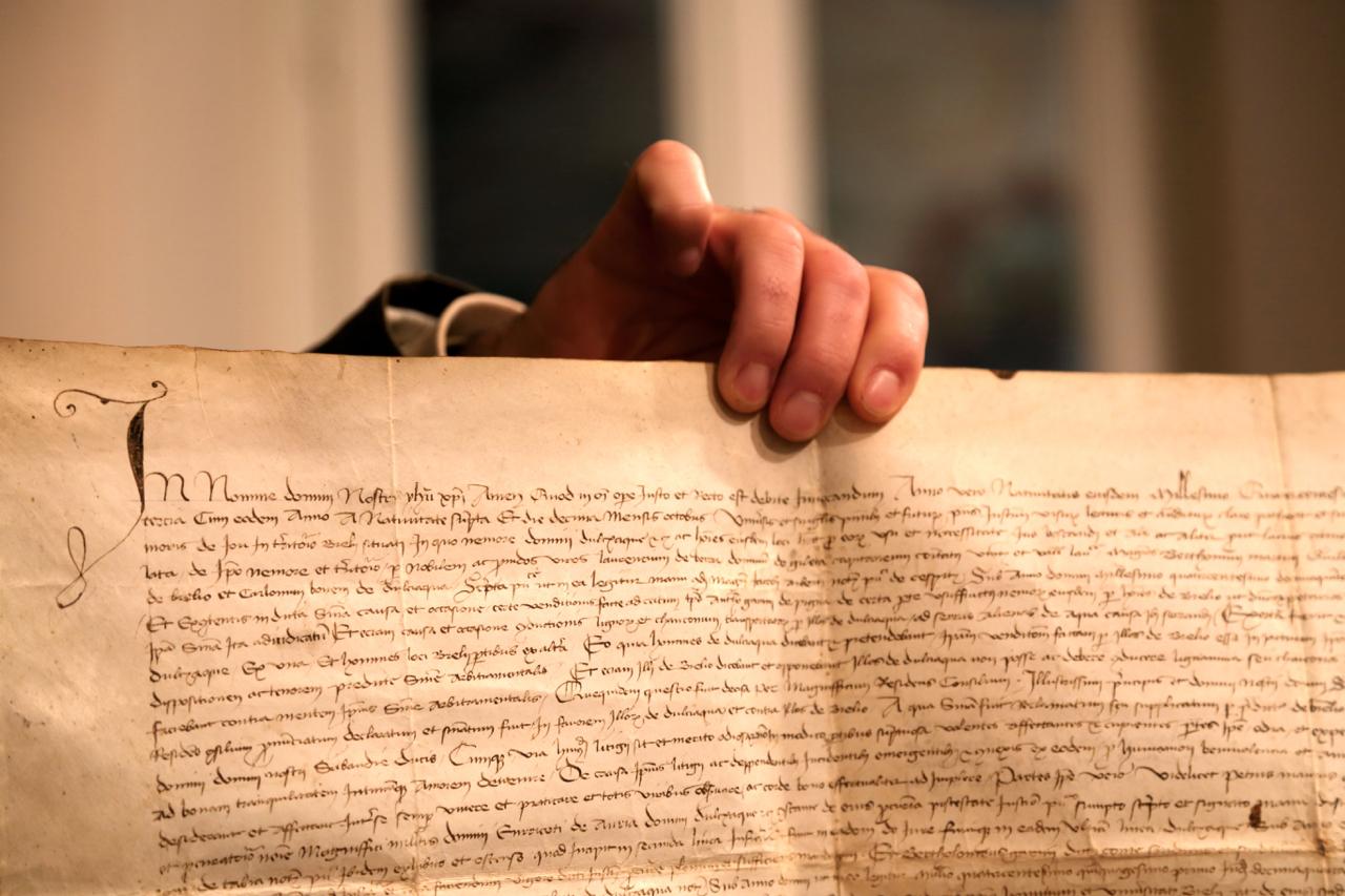 dolceacqua archivio storico particolare manoscritto