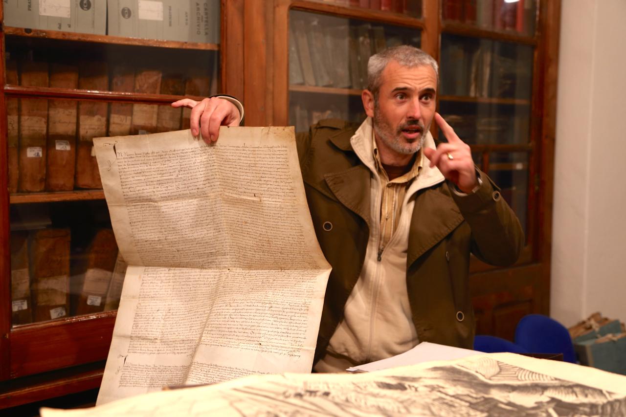 dolceacqua archivio storico palazzo garoscio