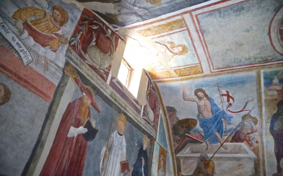 Gli affreschi di San Bernardo a Dolceacqua