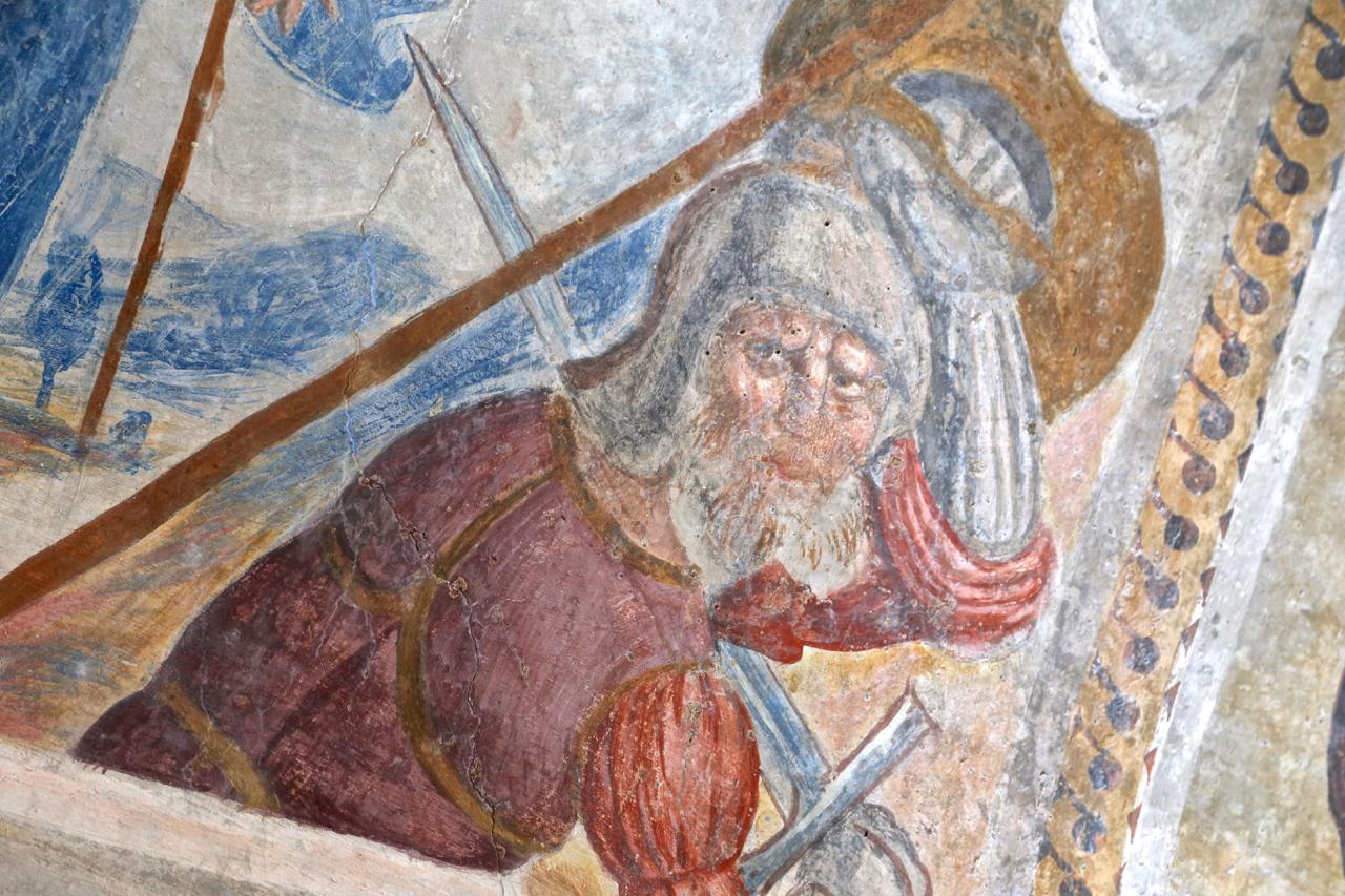 dolceacqua chiesa san bernardo affreschi arte