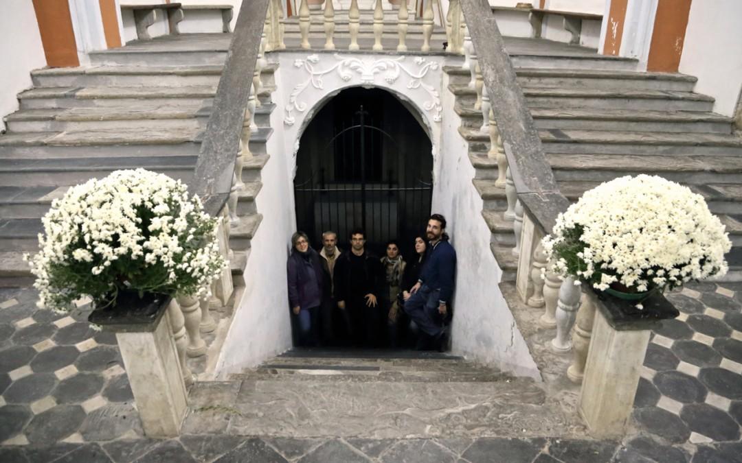 Nella Cripta dei Doria – a Dolceacqua